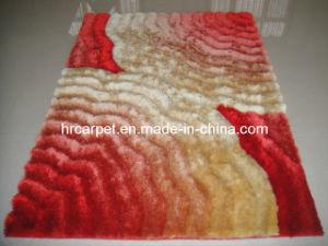 New Design Handmade 3D Polyester Shaggy Rug Carpet (HX-123A)