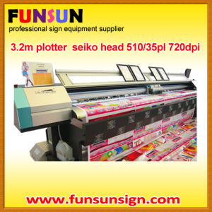 Phaeton 3.2m Vinyl Sticker Solevnt Printer (8 seiko head, 4colors, high quality) pictures & photos