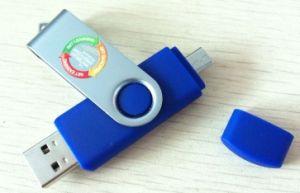 Swivel Phone Pen Drive, Mobile Phone USB, UV Printed Phone USB Drive