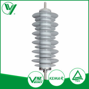 Outdoor Rated Voltage 12-36kv porcelain Polymer Lightning Protecting Arrester pictures & photos