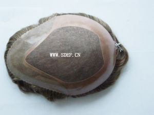Virgin Indian Hair Toupee (EF-024)