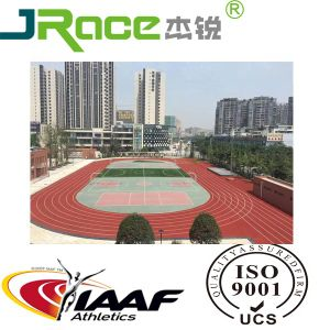 Cheap Sports Athletic PU Outdoor Wholesale Rubber Flooring pictures & photos