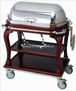 Hotel Luxury Roast Beef Service Trolley (DE33) pictures & photos