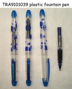 Plastic Fountain Pen (TRA9101039)