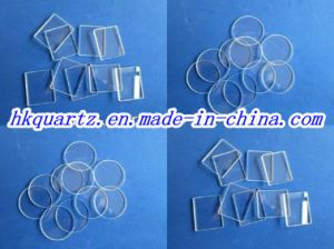 Quartz Wafer, Quartz Square, Piece of Quartz Glass pictures & photos