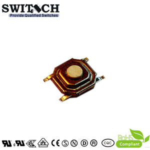 SGS Electronic Illuminated 4pins Metal Dust-Proof Waterproof Tact Switch