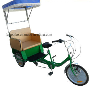 "Good Quality 20"" Tricycle Rickshaw Pedicab (FP-TRCY042) pictures & photos"