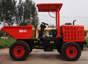 Hot Sales1ton Dumper Articulated Hydraulic Crawler Mini Tipper Truck pictures & photos