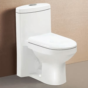 Sanitary Ware Siphonic One Piece Toilet for Bathroom on-148