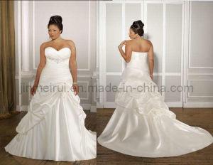 2011 Plus Size Wedding Dress (JM-1053)