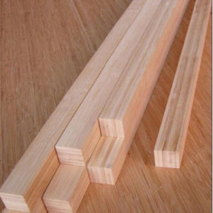 Bamboo Wood for Furniture and Decoration Carbonized 40mm*40mm