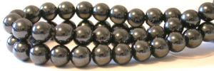 6MM Magnetic Hematite Round Beads (B45001MA-6)