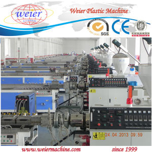 Plastic Wood Polymer Profile Extrusion Plant Machine Line pictures & photos