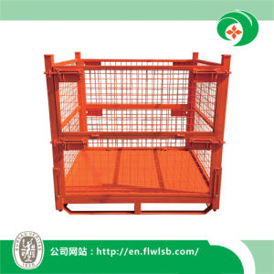 Folding Flexible Storage Cage for Materials Handling pictures & photos