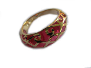 Gold Plating Rings with Resin