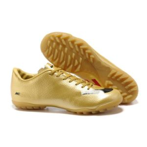 Gold Football Shoe Brand Shoe Men pictures & photos