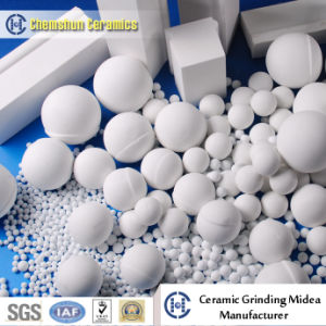 Alumina Ceramic Cylindrical Rod Oxide-Blockss as Ball Mill Grinder Media pictures & photos
