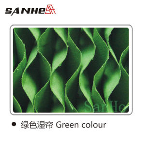 Sanhe Evaporative Cooling Pad (Green Colour) -Lee pictures & photos
