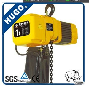 3 Ton Low Headroom Electric Chain Hoist with Remote Controller pictures & photos