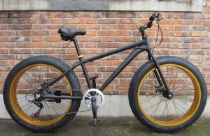 "26"" Alloy Frame Fat Bike with Shimano 6sp"
