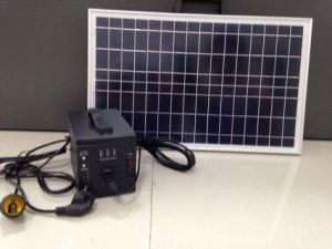 Mini and High Quality Mobile Power Solar Generator (XC-10/A-2)
