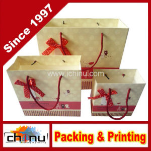 OEM Customsized Recycled Packaging Gift Paper Bag (3241) pictures & photos