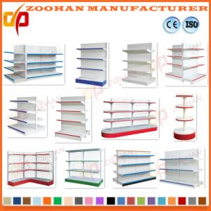 Manufactured Customized Single Side Supermarket Wall Display Shelving (Zhs575) pictures & photos
