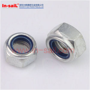 Hex Nylon Insert Nut Manufacturer pictures & photos