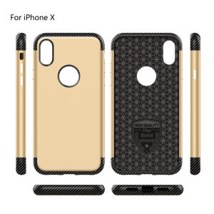 The Solid Shield Design PC&TPU Phone Cases for iPhone X pictures & photos