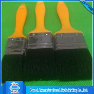 Black Filaments Mix Bristle with Yellow Handle Paint Brush Set pictures & photos