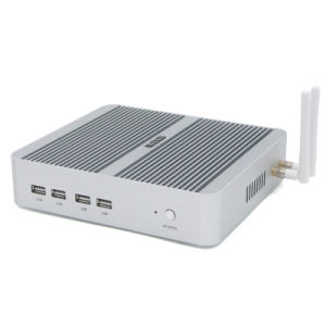 Intel I5-7200u Fanless Mini PC Small Home Computer pictures & photos