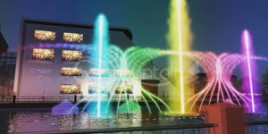 Outdoor 2017 New Style Floating Dancing Water Fountain pictures & photos