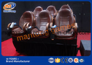6 Dof Motional 5D Cinema Simulator Strong Vibration System Large Screen pictures & photos