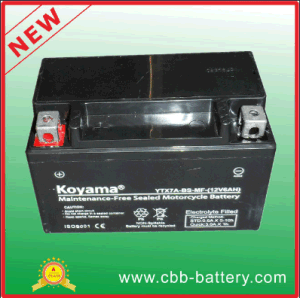 12V7ah High Performance Motorcycle Gel Battery Ytx7a-BS-Mf pictures & photos