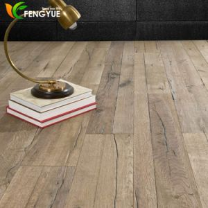 Wood Grain Click Vinyl Floor Tile pictures & photos
