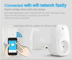 All Type of Low Cost Smart WiFi Remote Control Socket with APP pictures & photos