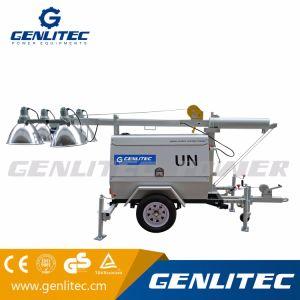 Perkins Diesel Generator Mobile Light Tower (GLT4000-9M) pictures & photos