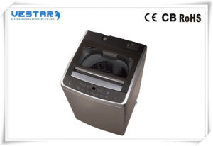 LED Display Auto Fully Top Loading Washing Machine pictures & photos