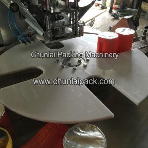 Plastic Tang Juice Jar Sealing Machine pictures & photos