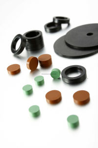 FKM Gasket Rubber Gasket Seals NBR EPDM Rubber Flat Washer pictures & photos