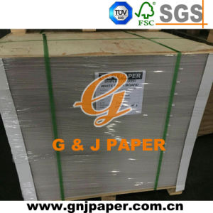 Double Sides Coating Triplex Paper with White Back Paper Board pictures & photos
