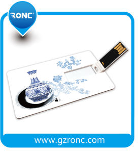 Company Gift Logo Printed Credit Card USB Flash Drive pictures & photos