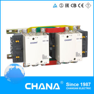 Motor Magnetic 24V 220V Coil Reversing/Change-Over Type Contactor pictures & photos