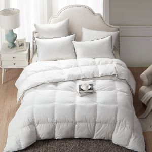Wholesale High Quality King Size White Goose Down Duvet Bedding Comforter pictures & photos