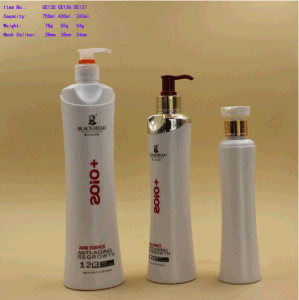 Hair Care Plastic 500ml Bottle, for Shampoo, Cosmetic Packaging pictures & photos