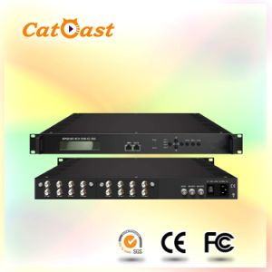 Professional IRD with 8X DVB-S2 Tuner Input, Asi Output pictures & photos