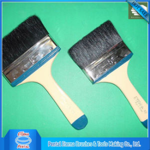 Black Bristle Artist Paint Brush with Wooden Handle pictures & photos