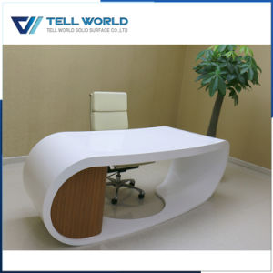 Modern Luxury CEO Table with Side Table pictures & photos