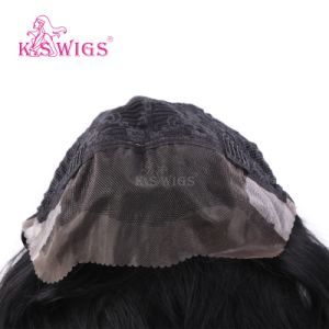 Virgin Remy Hair Half Lace Human Hair Wig pictures & photos