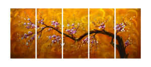 Beautiful Flower for Aluminiums Painting pictures & photos